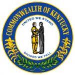 What does the two men in the middle of the Kentucky state flag mean?