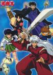 In which order did Inuyasha and Kagome meet their friends?
