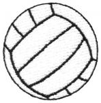 When you serve you can't make contact with the ball directly out of your hand.