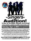 You see a flyer advertising an audition, the audition sounds great but what do you do about it?