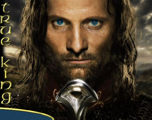 The Lord Of The Rings Legolas And Aragorn