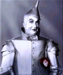 In The Wizard of Oz, the tin man is looking for a heart