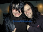 Gerard Way and Bert McCracken were in an interview together answering questions and a fan asked if Gerard would ever date a fan. (true or false?)