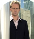 Which lucky team got to present with Anthea Turner?(The picture is of Billy Boyd...he is SCOTTISH)
