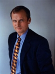 What was the name of the first Blue Peter dog?(this picture is of John Grisham...man, writes a good book)