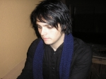 What is Gerard's natural hair color?