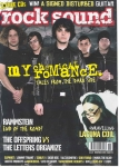 What magazine cover was Gerard and My Chemical Romance on in September 2005?