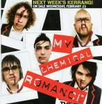 How long was Gerard in My Chemical Romance for when they released their first album?