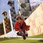 Name all the members of the Gryffindor house Quidditch team and their positions. (as of book 6)
