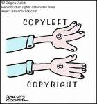 How many categories are not covered with copyright protection?