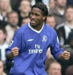 What nationality is Chelsea striker Didier Drogba?