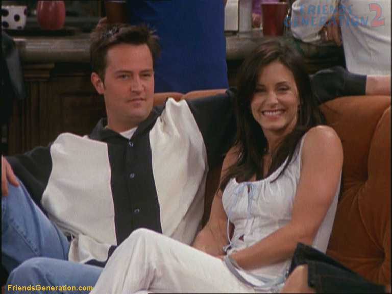 Monica And Chandler Friends Friends Monica And Chandler
