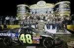 Who is Jimmie's crew chief?