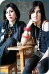 What are The Veronicas' natural hair color?