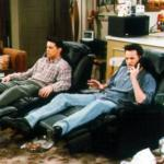 What are the names of Joey's TV and chair?