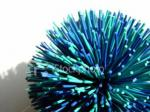 You have been attacked by a flying missile, called a koosh ball. When you come to and find yourself lying on the ground with a being standing over you