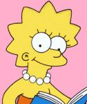 In any of the episodes has Lisa ever called herself --> {FAT}