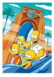 In {THIS} picture where are The Simpsons?