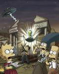 HINT: {LOOK AT THE PICTURE.}Anyhow...in this episode everyone thinks that there are aliens invading...SO...they decide to?