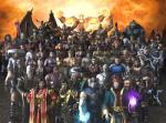 How many characters are there in the MK game series?