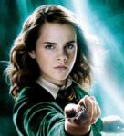 What did Hermione say after she punched Draco in the third book?