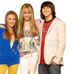 Miley Cyrus plays both Hannah Montana and Miley Stewart.