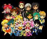 Does Sailor Moon face Chaos?