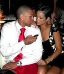 Chris Brown has been rumored to go out with Rihanna.