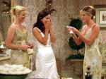 What did Joy's parents get Monica and Chandler as a wedding present?