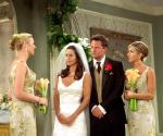 Who does Phoebe say is the father of her baby when she covers for Rachel?