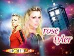 What two words are usually associated with Rose Tyler?
