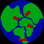 About 200 million years ago, there were no crystal plates or continents. There was only a supercontinent. What is it called?