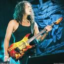 What is lead guitarist Kirk Hammett's middle name?