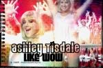 What is Ashley Tisdale's favorite food?
