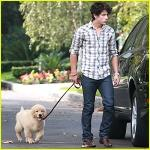 For Nick's b-day his parents give him a dog... which name is: