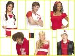 What are the real names of Troy, Gabriella, Sharpay and Ryan?