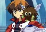 """What """"Duel Academy"""" student went pro after dueling Jaden Yuki?"""