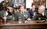 The A-Team consists of 4 members and are on the run, but only 3 are wanted by the military police. which three are they?