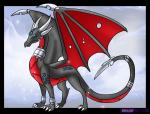 What is the name of the female black dragon from the advancers of Spyro?