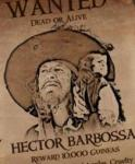 Who is Captain Hector Barbossa?