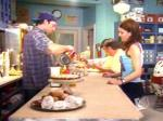 In season 3 Lorelai and Emily go to lunch at the diner and Luke and Lorelai are having an argument and Lorelai tells Luke to check the Frying oil with