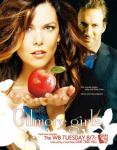 In season 7 Luke takes Lorelai and Rory food at the hospital because Richard is in there after having a .........