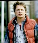 When Marty gets back to 1985, what can George not find?