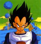 In the Namek Saga, who is the first of Frieza's soldiers to be killed by Vegeta?