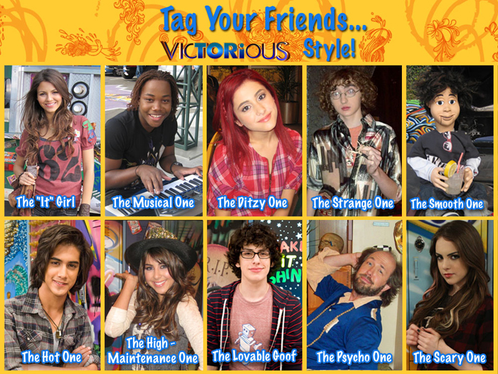 Which Victorious character are you