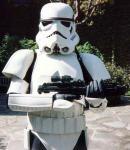 A Stormtrooper is walking across Australia for charity.