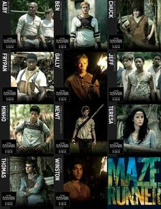 maze runner dating quiz Quiz on the maze runner these questions are based on the story and characters of the movie version of the maze runner  logged in players can create a quiz and .
