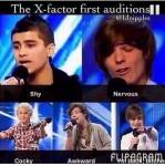 What song did Harry Sing on the X-Factor?