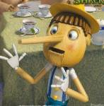 Pinocchio is a puppet in Shrek.