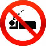 I can't sleep because I'm...